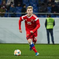 Состав молодёжной сборной России на матчи с Болгарией и Сербией