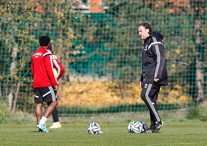 Миодраг Божович: «Очень доволен тем, как работают футболисты»