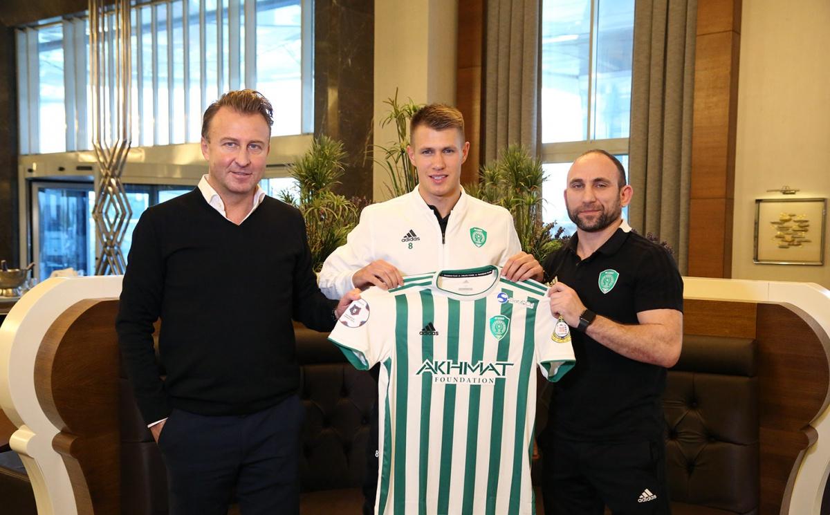 Магомед Даудов: «Дамиан Шиманьски – первый новичок нашего клуба в 2019 году»
