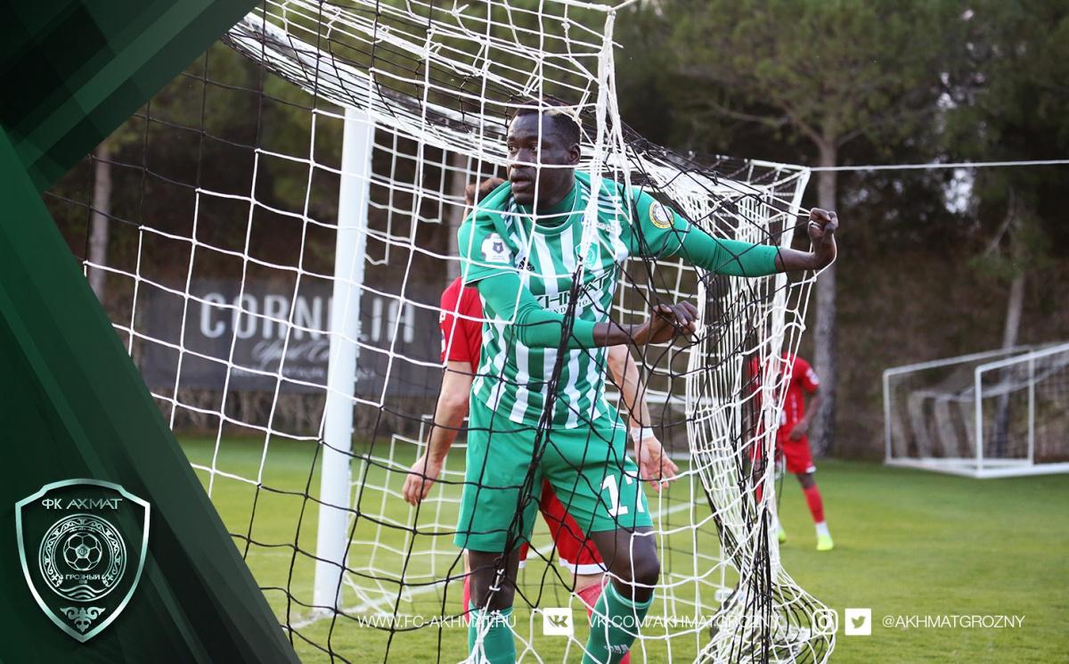 «Ахмат» в контрольном матче обыграл «Сабуртало» из Грузии
