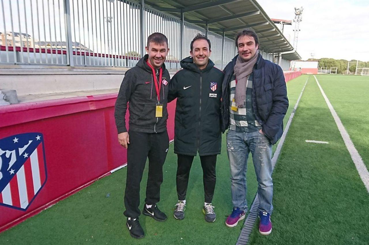 Гунько и Шарипов — на стажировке в «Атлетико»