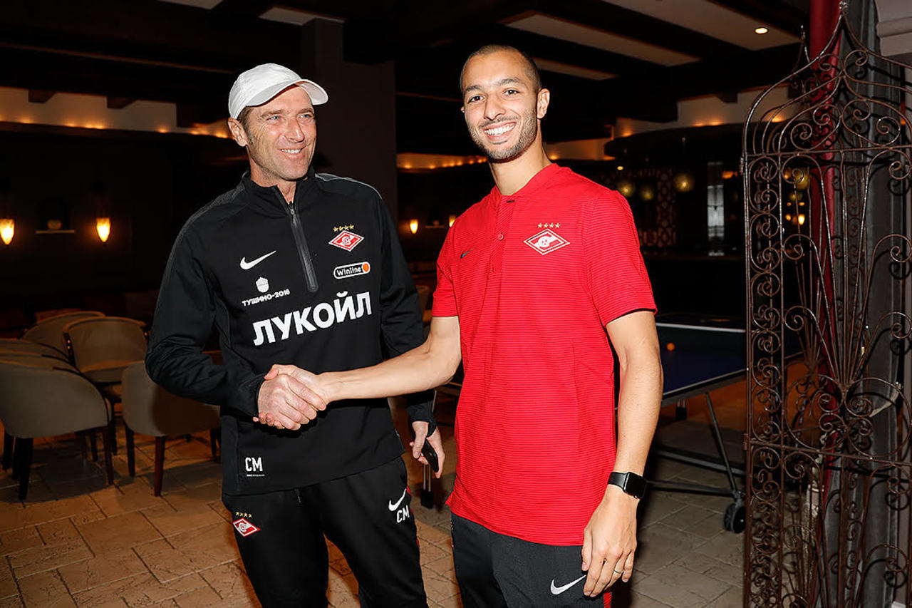 Софиан Ханни: «Приехал в «Спартак» за новыми трофеями!»