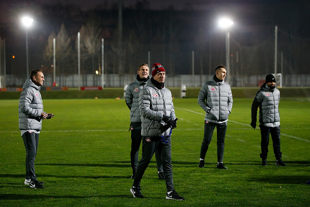 «Спартак» назвал новый тренерский штаб команды