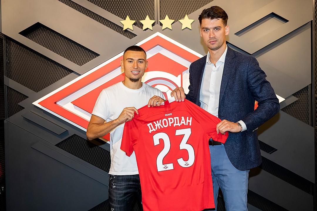 Джордан Ларссон переехал в «Спартак»