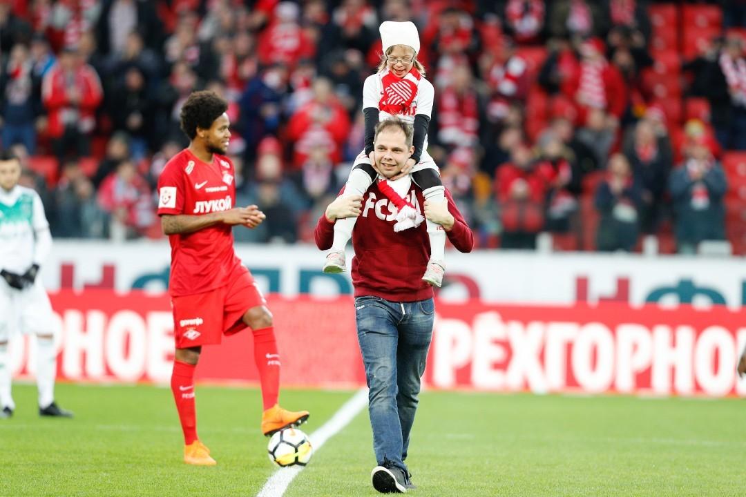 Игроков «Спартака» перед матчем с «Рейнджерс» выведут на поле особенные дети
