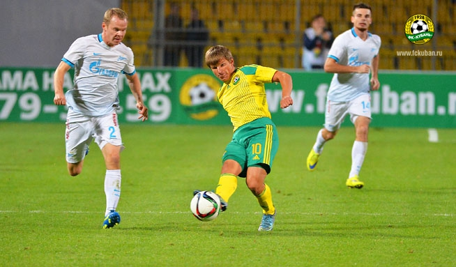 Андрей Аршавин покидает «Кубань»