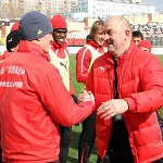 Станислав Черчесов провел последнюю тренировку «Амкара»