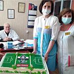 «Крылья Советов» отблагодарили врачей в свой день рождения