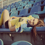 От «Ростова» на конкурс «Мисс Премьер-Лига» прилетела Анастасия Борисова