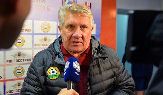 Сергей Ташуев: «Игроки обеих команд сегодня молодцы»