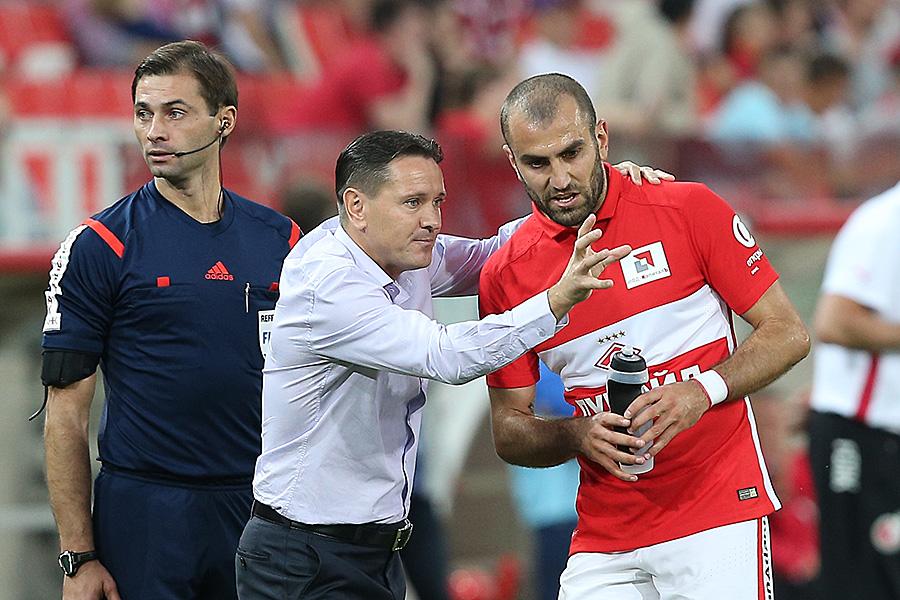 Дмитрий Аленичев: «Во втором тайме «Рубин» имел преимущество по игре»