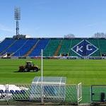 В Самару прибыла единственная в России футбольная сеялка