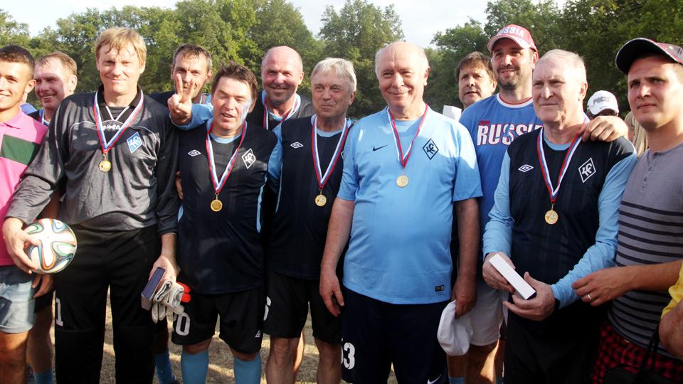 Николай Меркушкин сыграл за сборную ветеранов «Крыльев Советов»