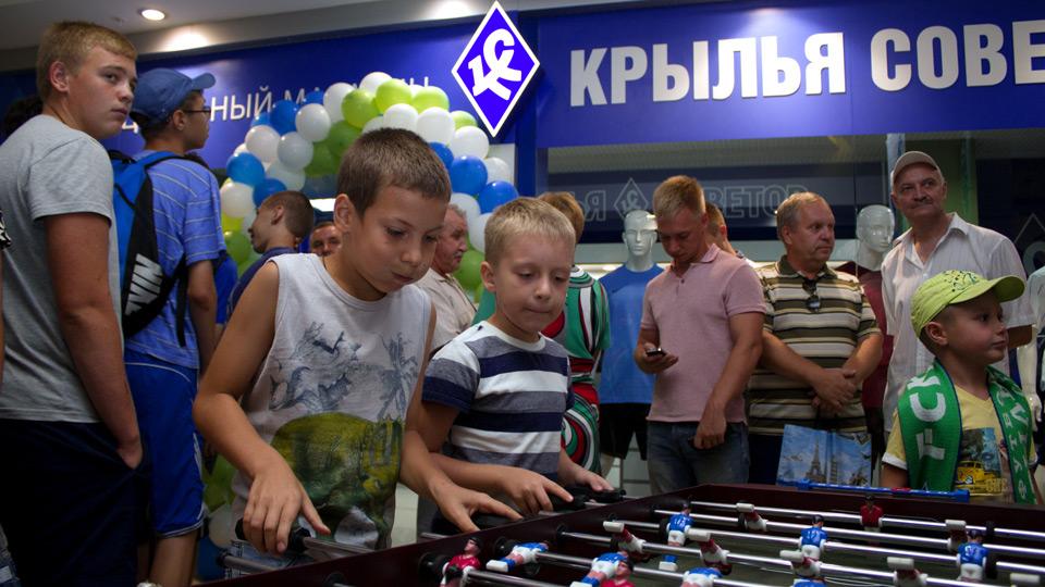 «Крылья Советов» открыли клубный магазин нового формата