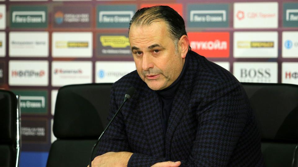 Миодраг Божович: Мы раскрылись, и пропустили два быстрых гола