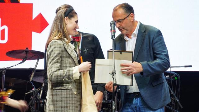 Божович и Соболев наградили победителей