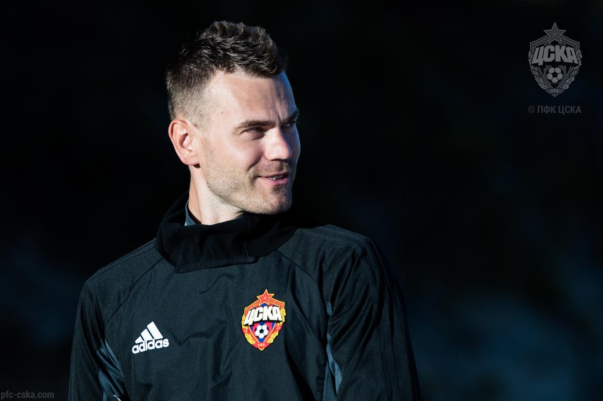 Игорь Акинфеев присоединился к ПФК ЦСКА
