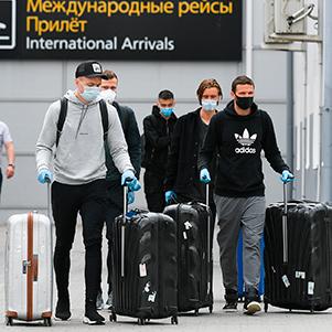Пять игроков «Краснодара» вернулись из-за рубежа