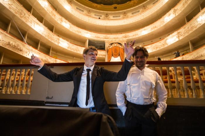 Игроки «Зенита» побывали на «Евгении Онегине» в Михайловском театре