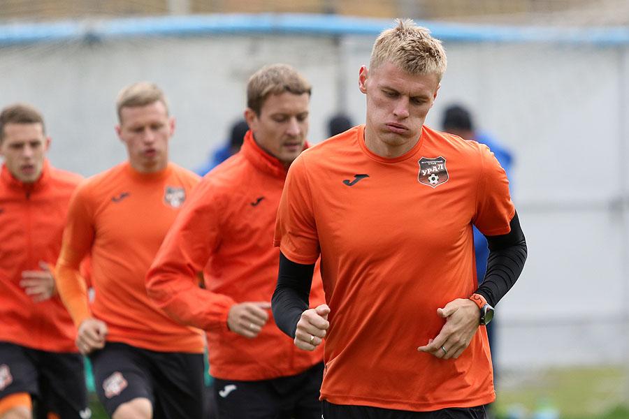 Подготовку к матчу 10 тура «Урал» начнет в четверг
