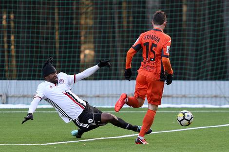 «Урал» одержал победу в матче против «Амкара»