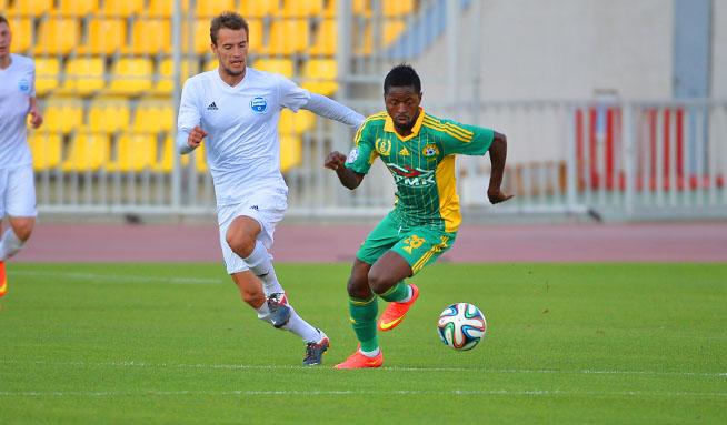 «Кубань» провела контрольный матч