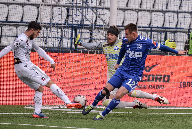 «Оренбург» одолел «Уфу» в контрольном матче