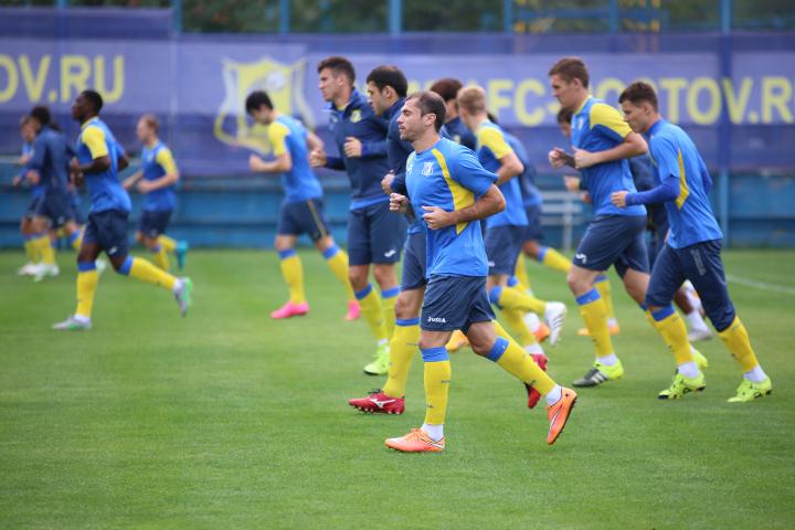 «Ростов» готовится к матчу с «Анжи»