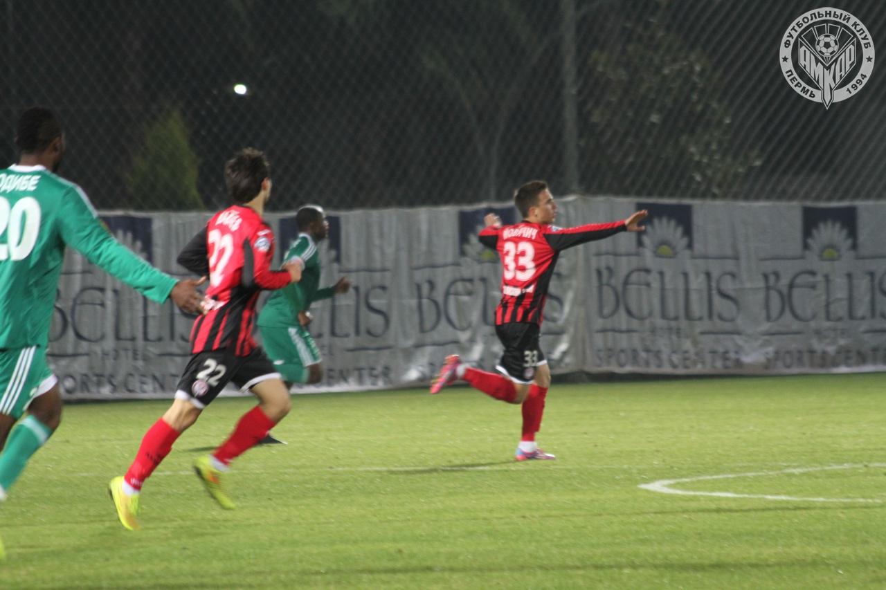 «Амкар» одержал победу в первом контрольном матче