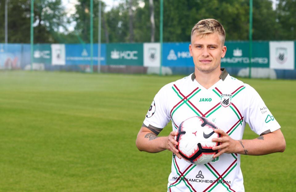 Олег Данченко подписал контракт с «Рубином»