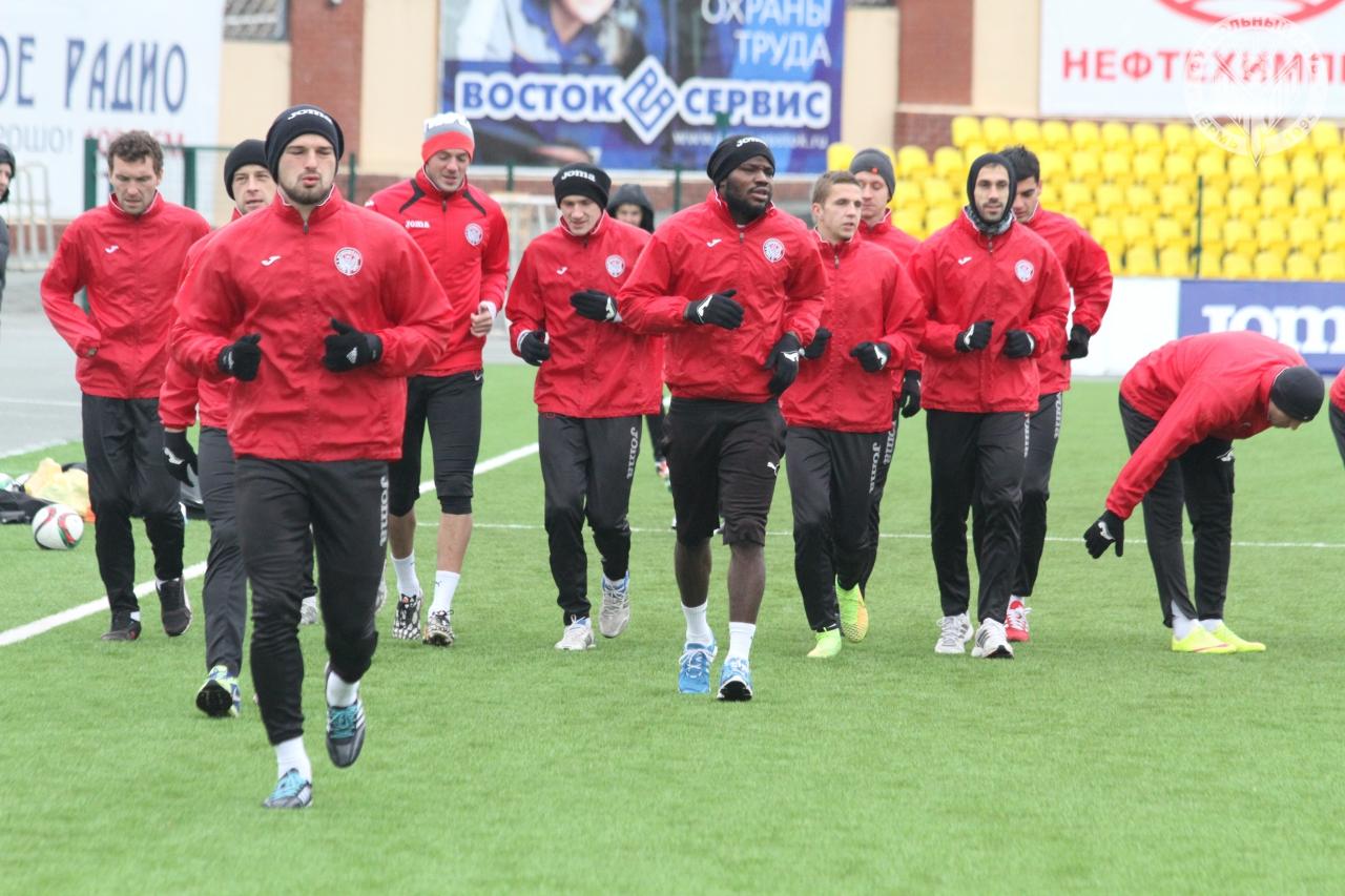«Амкар» начал подготовку к матчу с «Тереком»
