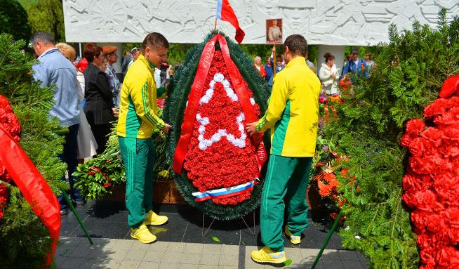 «Кубань» почтила память героев