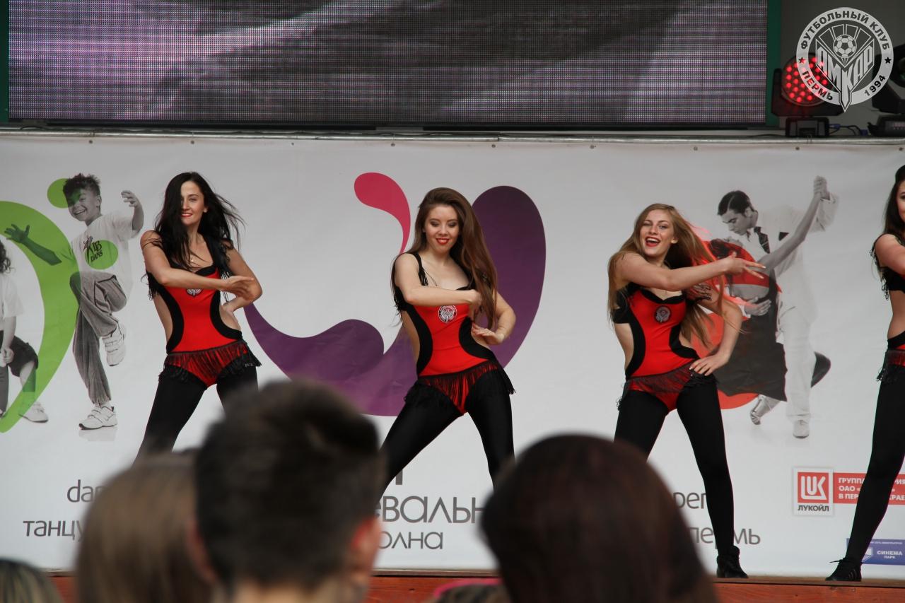 ФК «Амкар» на фестивале «Пермское Яркое»