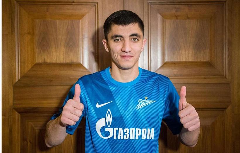 Ибрагим Цаллагов присоединился к «Зениту»