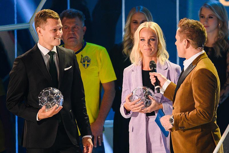 Виктор Классон – полузащитник года в Швеции