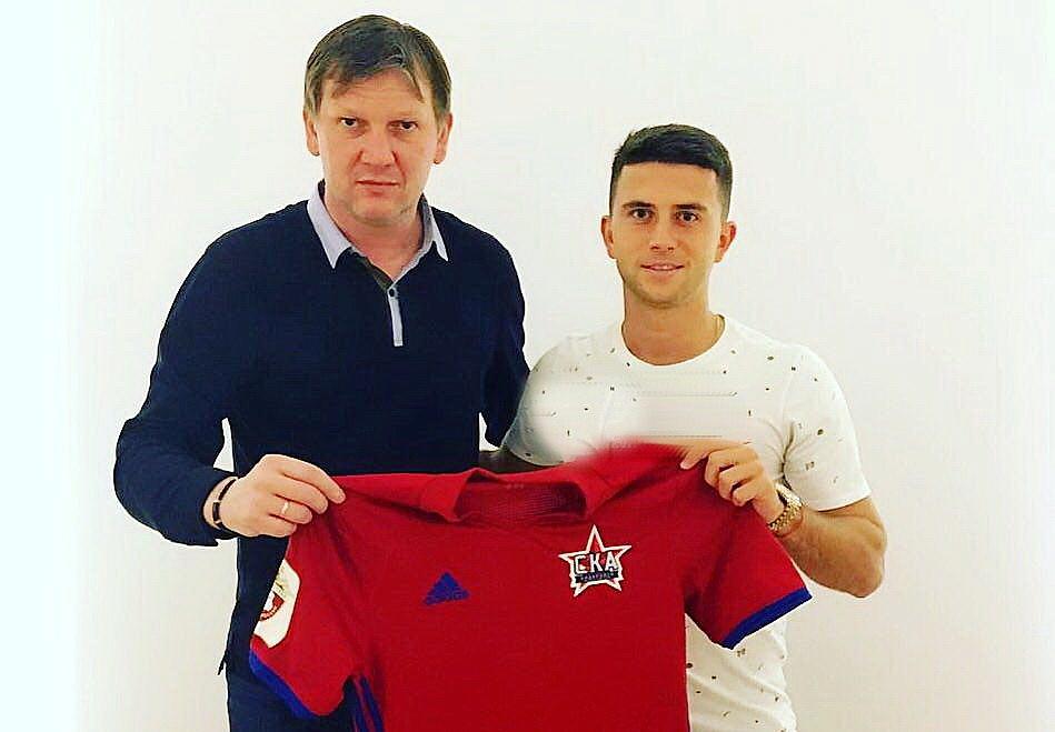 Дмитрий Богаев будет выступать за «СКА-Хабаровск»
