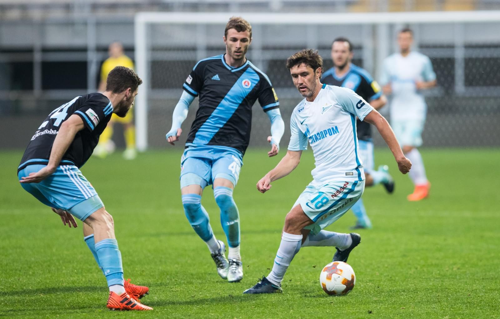Ничья в матче с вице-чемпионом Словакии