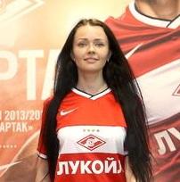 Владислава Чурилкина представит «Спартак» на конкурсе «Мисс РФПЛ»