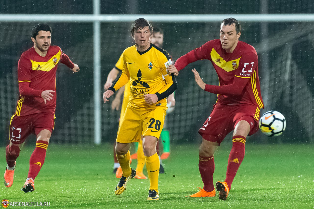 «Арсенал» сыграл вничью с командой Андрея Аршавина