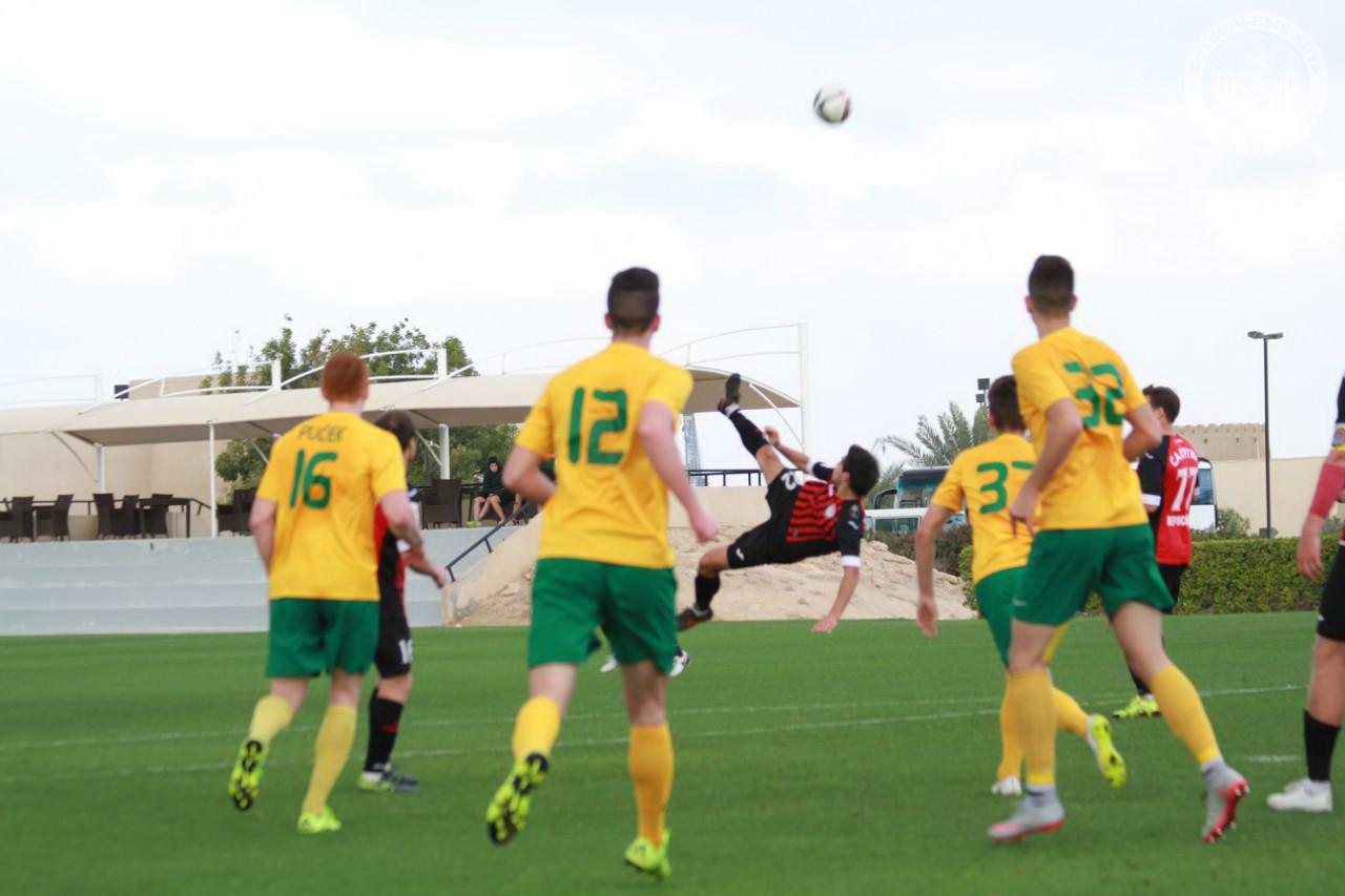 Заключительный матч в ОАЭ «Амкар» завершил разгромом