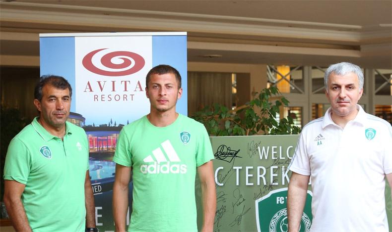 «Терек» заключил контракт с Григалашвили