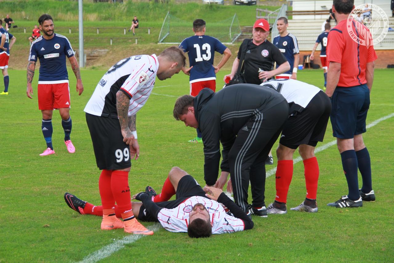 Первый товарищеский матч «Амкара» завершился вничью