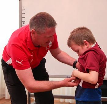 Спортивная форма для воспитанников детского дома