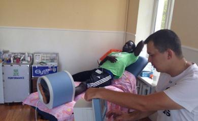 Аблае Мбенг продолжает курс лечения