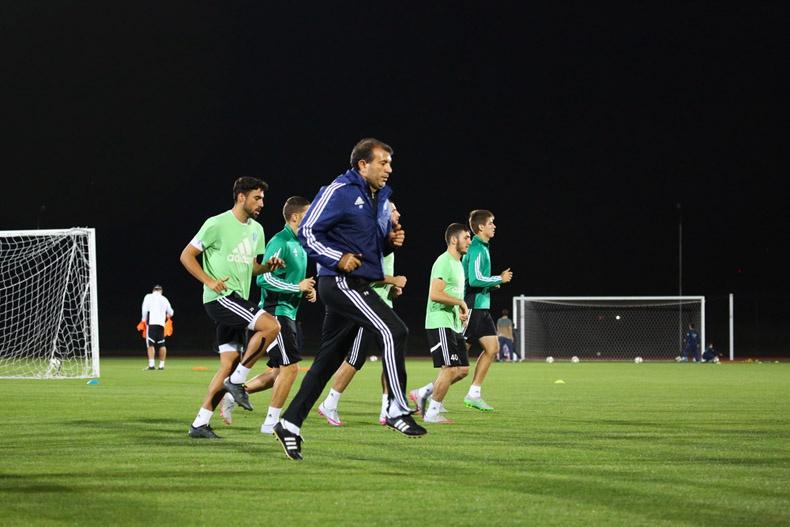 «Терек» начал подготовку к матчу с «Рубином»