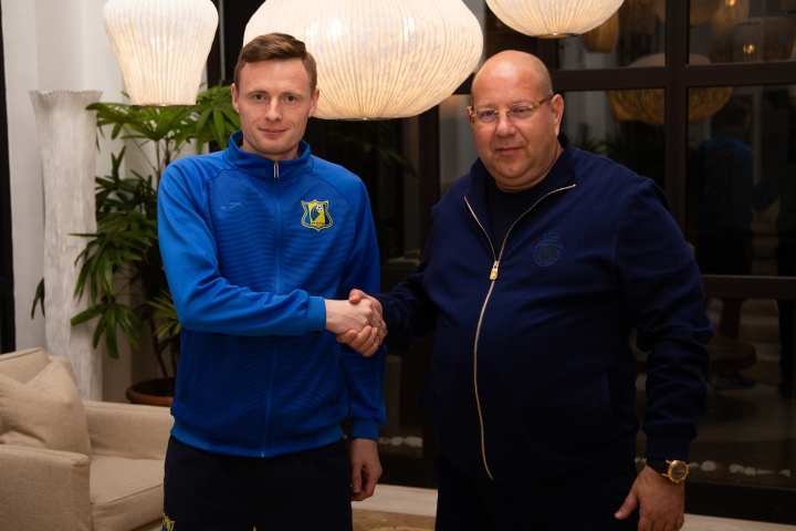Евгений Чернов – игрок «Ростова»