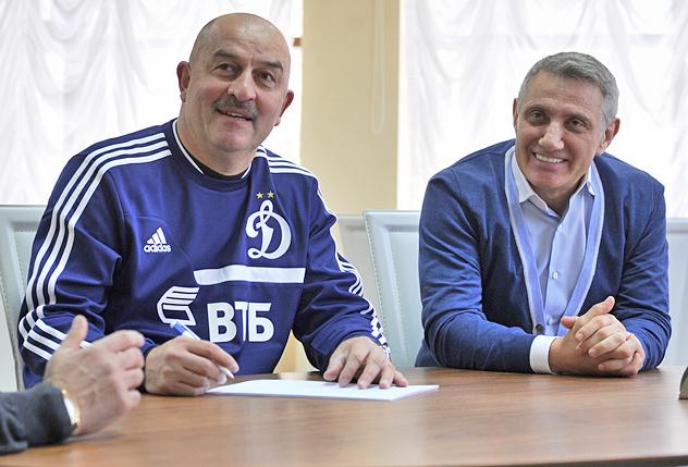 «Динамо» подписало контракт со Станиславом Черчесовым