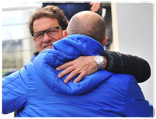 Фабио Капелло посетил тренировку «Динамо»