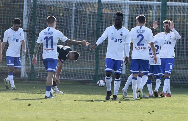 «Динамо» сыграл вничью с «Торпедо-БелАЗом»