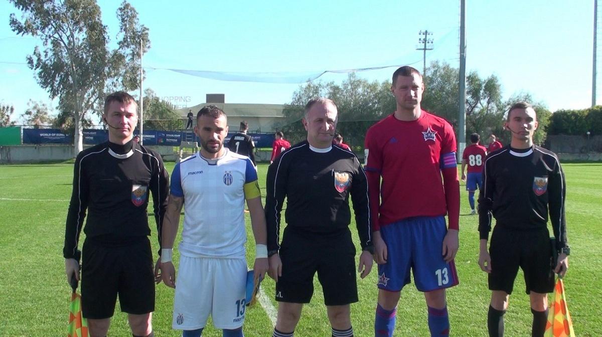 Ничья в первом контрольном матче на сборах в Турции